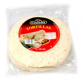 Vete tortillas 16cm. La Costena