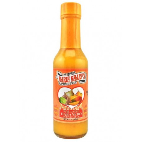 Marie Sharp's Pure Mango Habanero Pepper Sauce 148ml