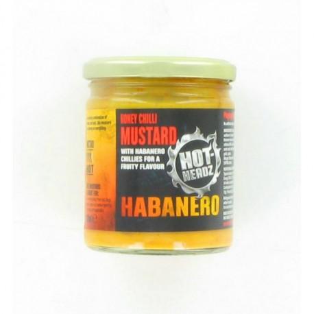 HOT-HEADZ! HABANERO HONEY CHILLI MUSTARD 230ml