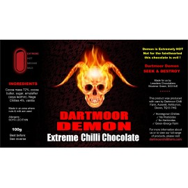 DARTMOOR DEMON EXTREME HOT Choklad