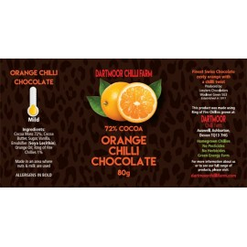 Dartmoor Chilli Chocolate with Orange.