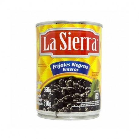 La Sierra Frijoles Negros enteros, hela svarta bönor 560gr
