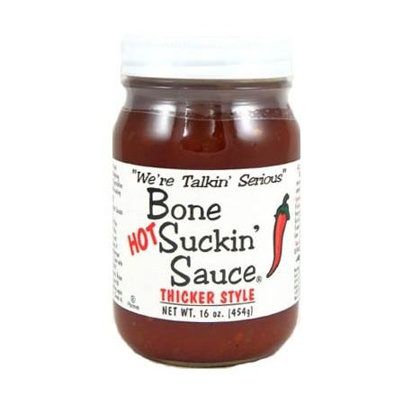 Bone Suckin' Sauce Hot BBQ and Marinating Sauce 454gr
