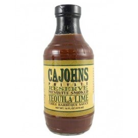 Cajohn's Mesquite Smoked Tequila Lime Chile Barbeque Sauce 474ml