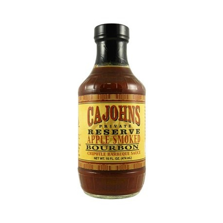 Cajohn's Applewood Smoked Bourbon Chipotle Barbecue Sauce 474ml