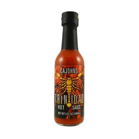Cajohn's Trinidad Scorpion Hot Sauce 148ml