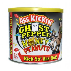 Ass Kickin' Ghost Pepper Honey Peanuts 340gr