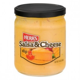 Herr's Salsa and Cheese Dip - 454g