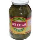 AZTECA Nopalitos Enteros. Hela kaktusblad i vatten 460gr