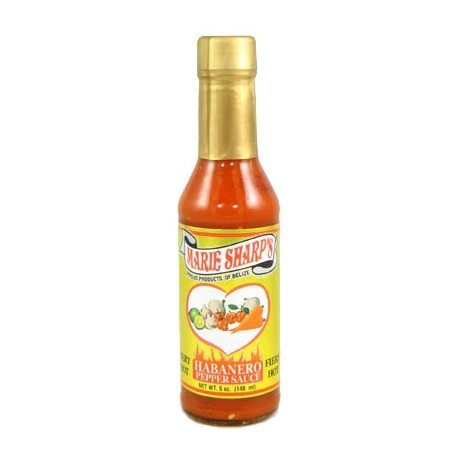Marie Sharp's fiery Hot Habanero Hot Sauce 148ml