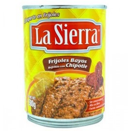 La Sierra Refried beans med chipotle, refritos con chipotle 430gr