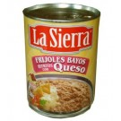 La Sierra Refried beans med Ost, refritos con Queso