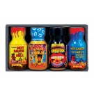 MINI Xtreme Hot Sauce 4 Pack