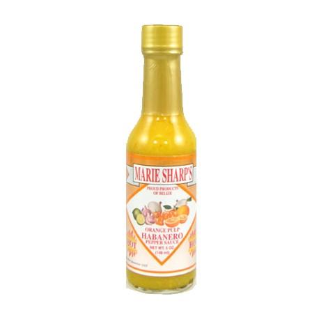 Marie Sharp's Orange Pulp Habanero Hot Sauce