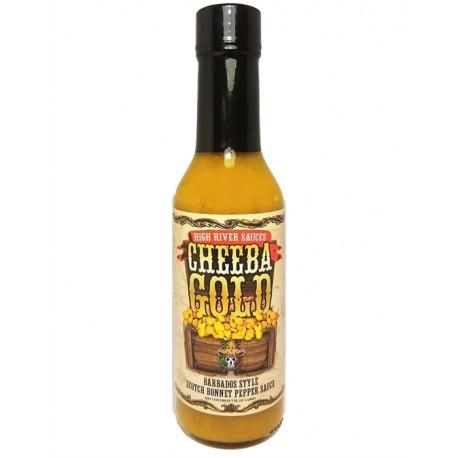 High River Sauces Cheeba Gold Barbados Style Scotch Bonnet Pepper Sauce