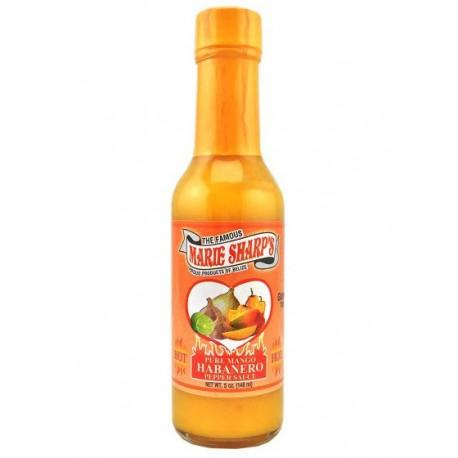 Marie Sharp's Pure Mango Habanero Pepper Sauce 148ml