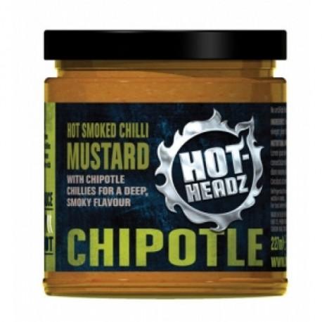 HOT-HEADZ! SMOKY CHIPOTLE MUSTARD 230ml