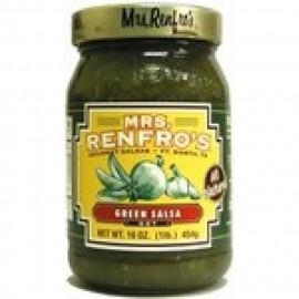 MRS RENFRO'S GREEN JALAPENO SALSA
