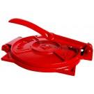 Tortillapress Röd för äkta Mexikanska glutenfria tortillias