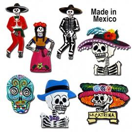 Mexikanska Kylskåpsmagneter i plåt