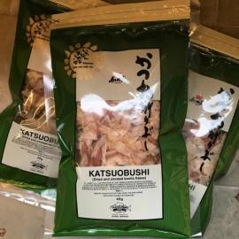 """Torkad, rökt och fermenterad Bonito""""Katsuobushi"""" 40g"""