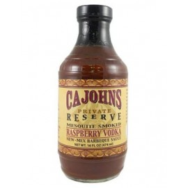 Cajohn's Mesquite Smoked Raspberry Vodka Barbeque Sauce 474m