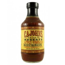 Cajohn's Applewood Smoked Bourbon Chipotle Barbecue Sauce 474ml