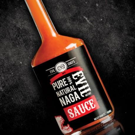 Evil Chef's No1 Pure 100% Evil Natural Naga Hot Sauce