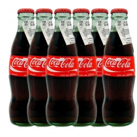 Mexikansk Coca Cola 6-Pack