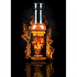 HELLFIRE FIREARRHEA HOT SAUCE 148ml