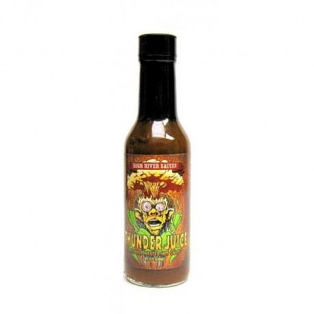 High River Sauces Cheeba Gold Barbados Style Scotch Bonnet Pepper Sauce