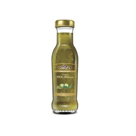 Chile Serrano Gourmet salsa 280gr