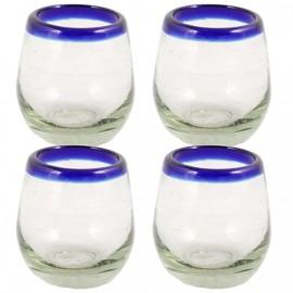 Mezcal shot glas. 4st