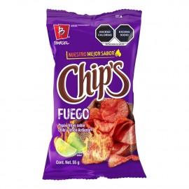 Chips Fuego 10-pack x 56gr