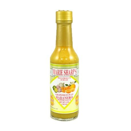 Marie Sharp's Grapefruit Pulp Habanero Hot Sauce
