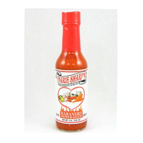 Marie Sharp's Hot Habanero Hot Sauce