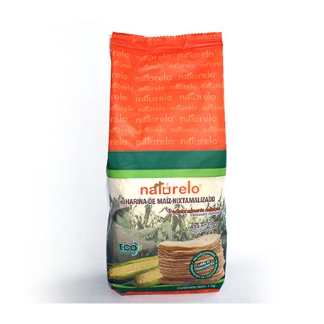 Masa Harina ECO, GMO fritt