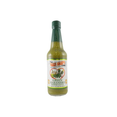 Marie Sharp's Green Habanero Hot Sauce with Prickly Pears 296ml