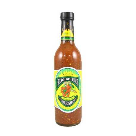 Ring of Fire Garden Fresh Chile Sauce Hot Sauce 370ml